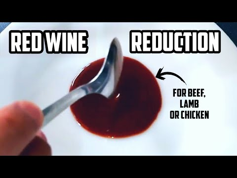 Red Wine Reduction (Red Wine Sauce)