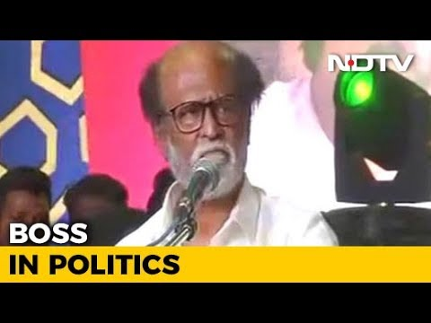 """I'm Here To Fill Political Vacuum In Tamil Nadu"": Another Rajinikanth Blockbuster?"