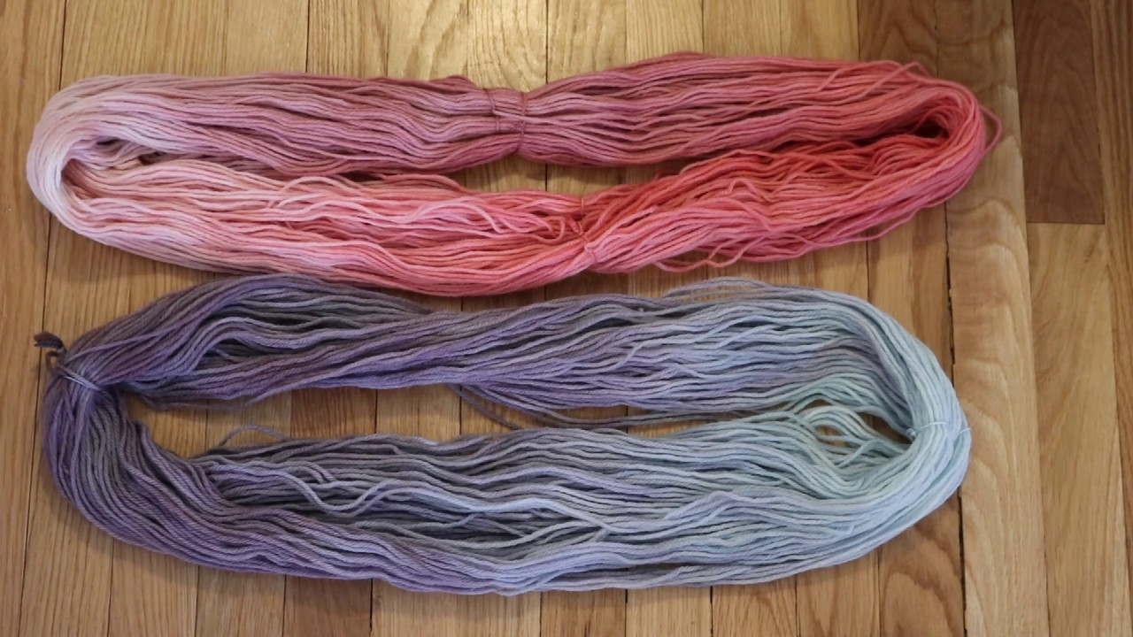 No Dye Left Behind! Let\'s Dye Some Yarn in Leftover Food Coloring ...