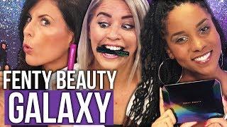Unboxing Fenty Beauty GALAXY Holiday Makeup by Rihanna (Beauty Break)