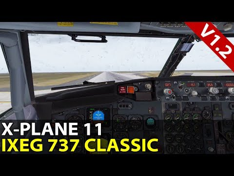 Is Anybody Else Lost? IXEG 737 Classic v1.2 in X-Plane 11, VATSIM ✈️ 2017-07-23