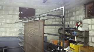Custom Metal Work Bench/shop Storage - Part 4