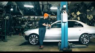 BMW E39. Дино стенд. Часть 2