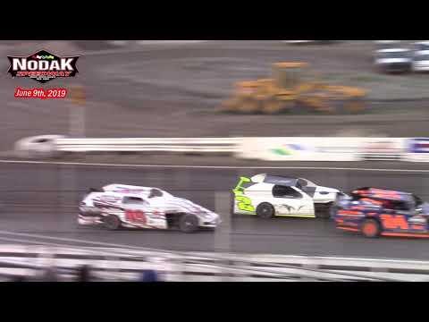 Nodak Speedway IMCA Sport Mod A-Main (6/9/19)