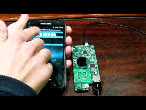 Demo Android Accesories + PIC 24F USB OTG.