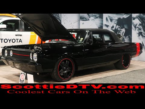 1967 Dodge Dart Demon Convertible Street Machine The SEMA Show 2017