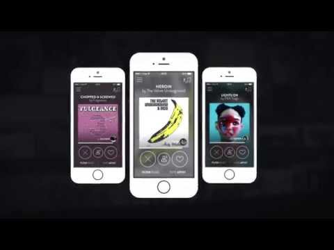 The Best Song - mobile app presentation (MIDEM version)