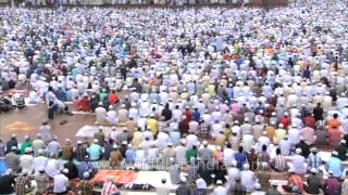 Muslims gathered at the grand Jama Masjid for final Namaz of Ramadan month in 2013