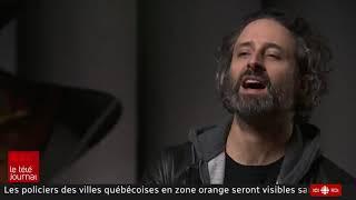Cinq minutes avec avec Louis Jean Cormier