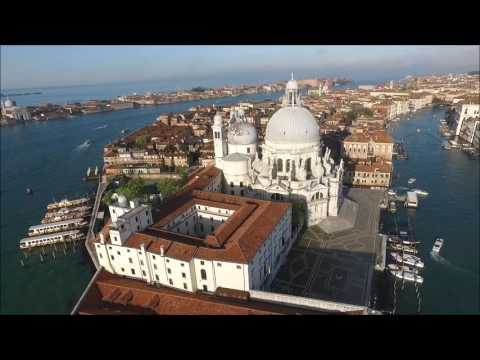 HD Drone DJI Phantom 3 visits Venice, Italy   MSC Cruise 4 16 2016