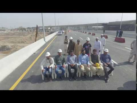 Pindi Bypass Aziz Chowk Gujranwala Opening of Main Flyover 1 Post Tensioned Box Girder Bridge