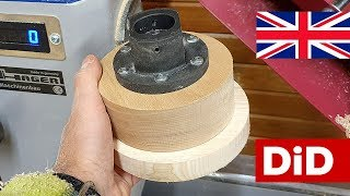 899. Wooden glue block DIY for lathe