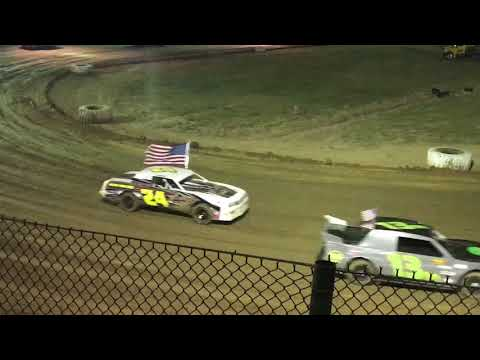 Jackson Motor Speedway 9/30/17 God Bless the USA