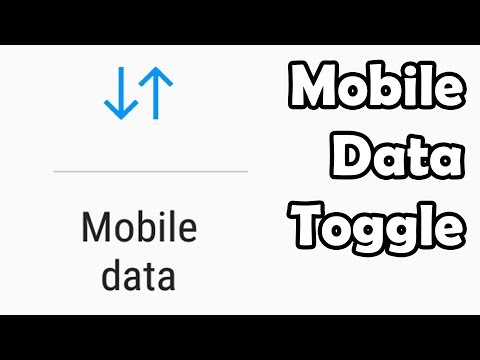 How To Restore Mobile Data Toggle On Galaxy S9/S10/S20 & Note 8/9/10 | Works With OneUI | READ DESC