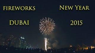 Dubai New Year fireworks 2015 Atlantis, JBR, Palm Jumeirah in Dubai (UAE) WoW!!!