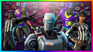 "LEAKED ""A.I.M, Rush & Spike!"" NEW Legendary Skins in Fortnite: Battle Royale SEASON 6!"