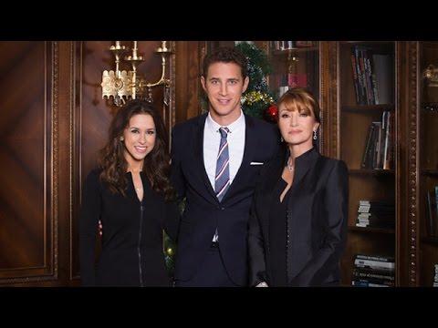 A Royal Christmas.A Royal Christmas Stars Lacey Chabert Stephen Hagan And Jane Seymour