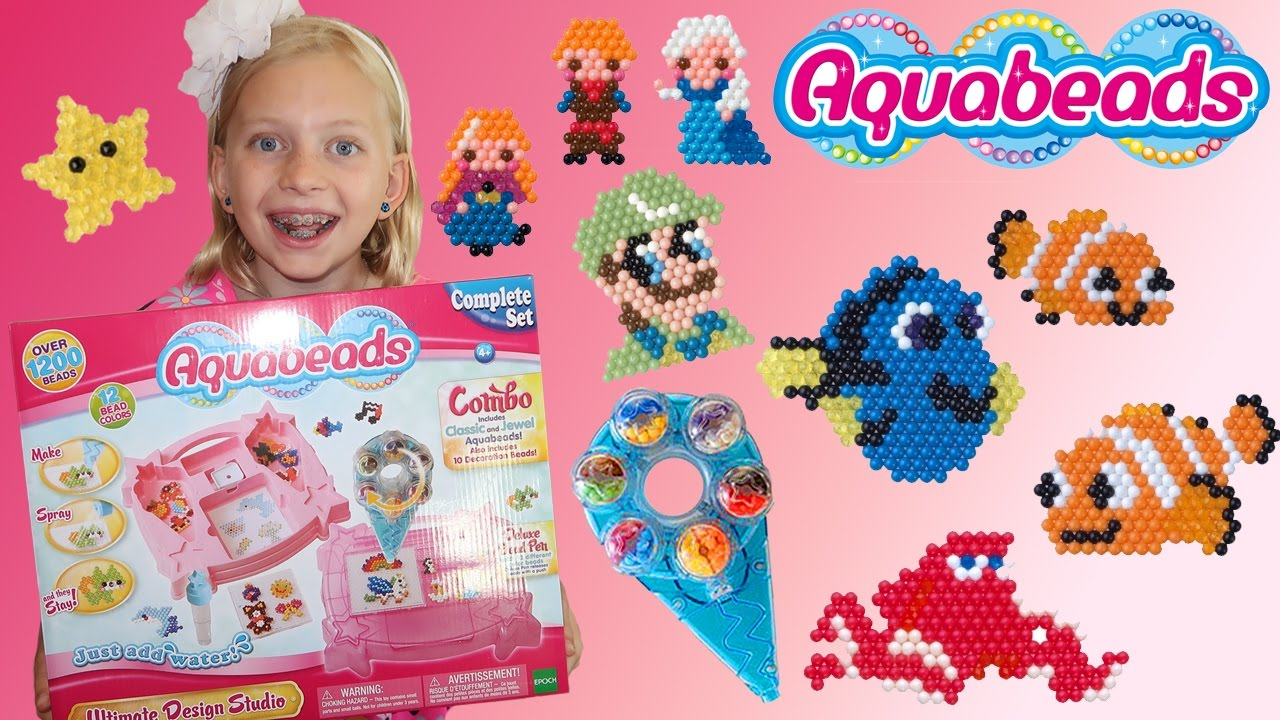 Aquabeads Ultimate Design Studio Youtube