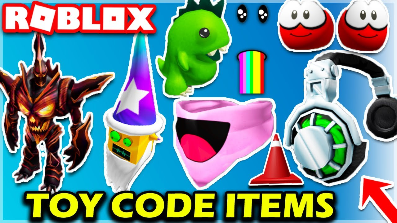 Exclusive Items New Roblox Toy Code Items October 2020 New Toy Codes Promocodes Roblox Youtube