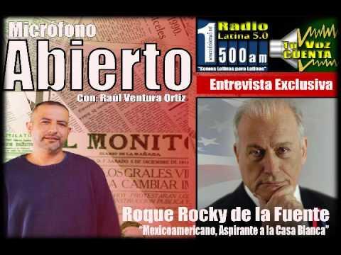 Roque Rocky de la Fuente - Raúl Ventura Ortiz 11 18 2015