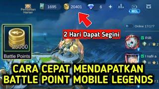 Cara Mendapatkan Battle Point Di Mobile Legends Dengan Cepat