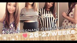 ♥MY PREGNANT DRESSING IDEA 26-27WEEKS Thumbnail