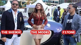 """£100m in CRAZY Supercars, The """"Sheikh"""" Amari, The Model & F17ONE"""
