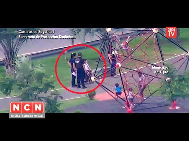 CINCO TV - Niño accidentado fue asistido tras un alerta desde un tótem de seguridad del COT