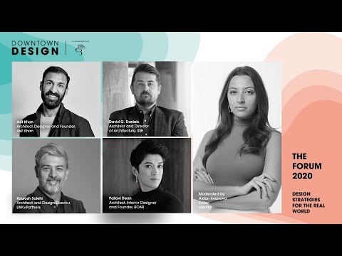 Conscious Design Strategies For The Real World – Downtown Design 2020 Talks Programme