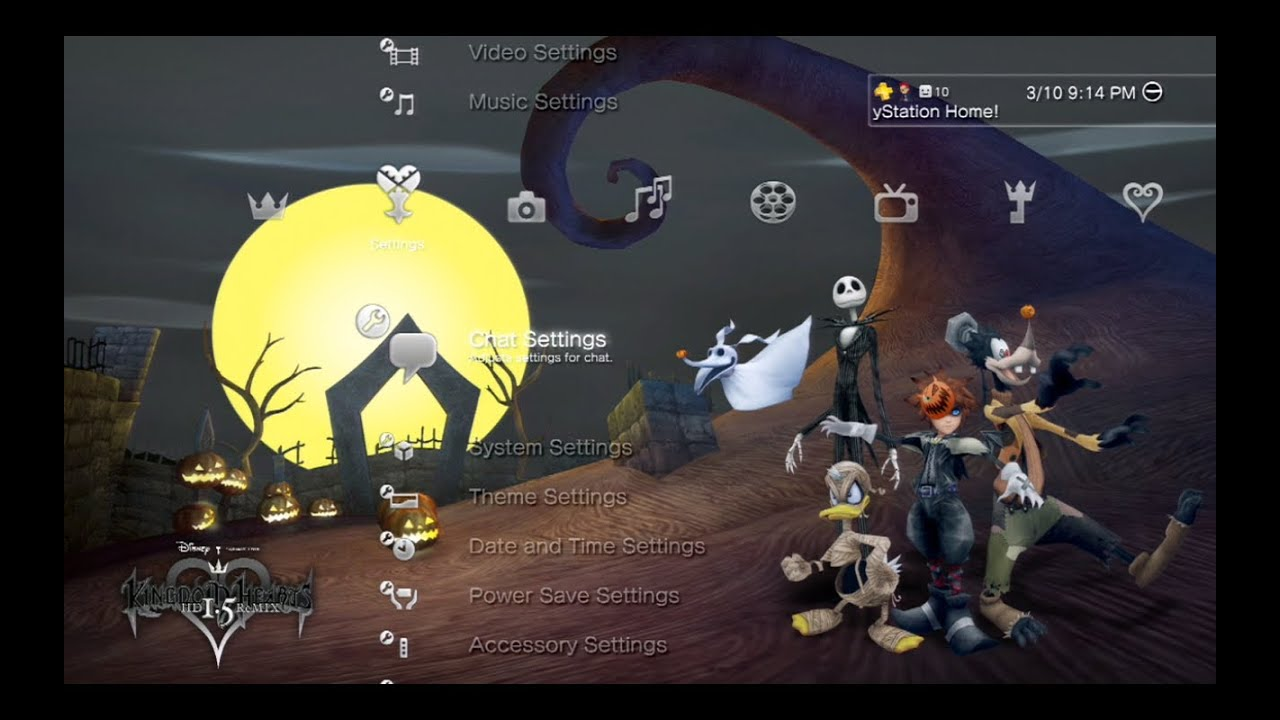 Kingdom Hearts HD 1.5 Remix - Dynamic Theme - YouTube