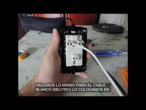 Como instalar una toma electrica polarizada 110 120 teorico for Como instalar una terma electrica
