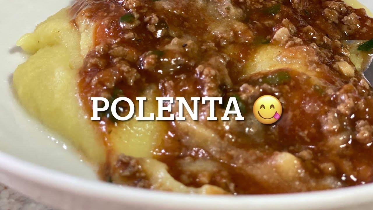 Como fazer Polenta 😋 receita muito gostosa, muito fácil, rápido e simples de fazer 🤗🌼