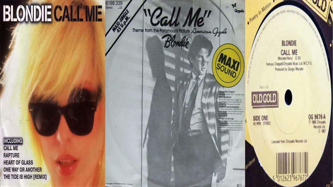 Download Blondie - Call Me (Original Long Version) (American Gigolo OST 1980)