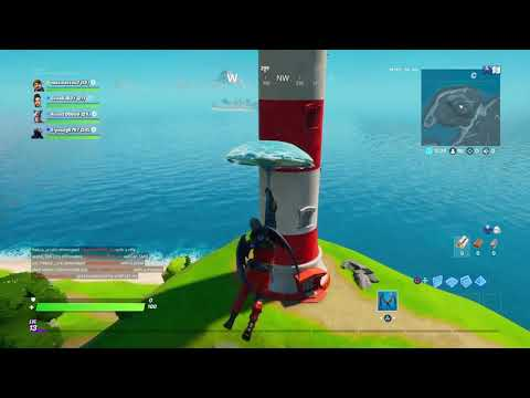 Dance At Compact Cars Lockie S Lighthouse And A Weather Station Locations Fortnite Chapter 2