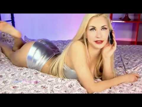 Evelyn - silver hot pants