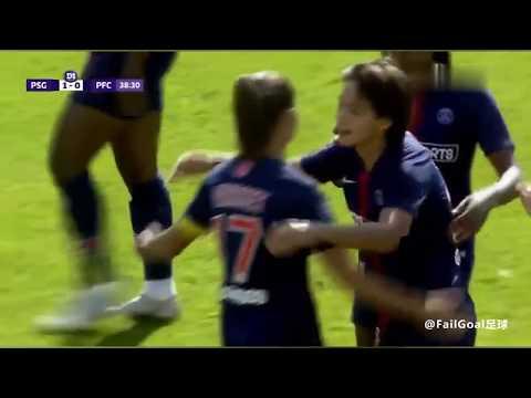 Wang Shuang PSG(women) debut goal!  09/09/2018