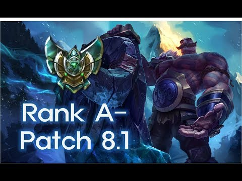 Ep. 7 Braum vs Lulu (Platinum Support KR Server) (Rank A-)