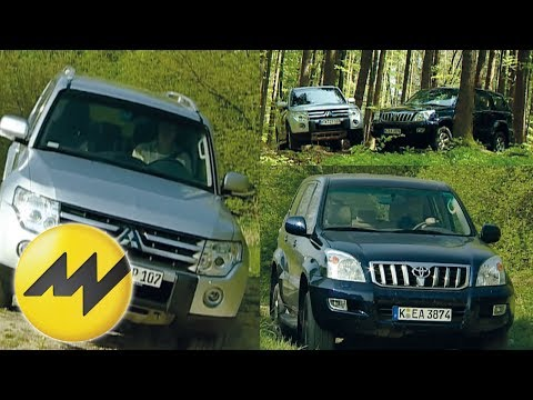 Mitsubishi Pajero vs. Toyota Land Cruiser Motorvision vergle