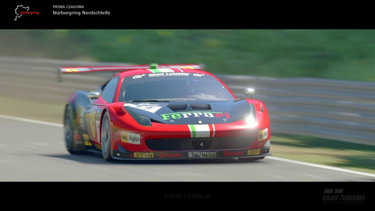 Nurburgring-Nordschleife GTS Ferrari 458 Italia GT3 ' 13 ...