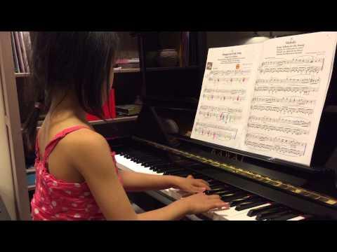 Suzuki Book 2 - hungarian folk song - by Sydney
