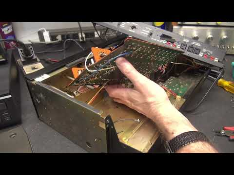 How To Repair Sansui AU-7700 Integrated Amplifier Channel Out Or Weak