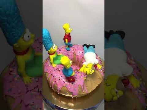 Торт пончик с...