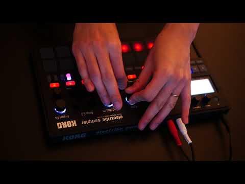 Korg electribe 2 (electribe sampler) 1-bar techno jam