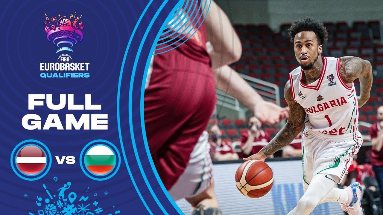 Latvia v Bulgaria | Full Game