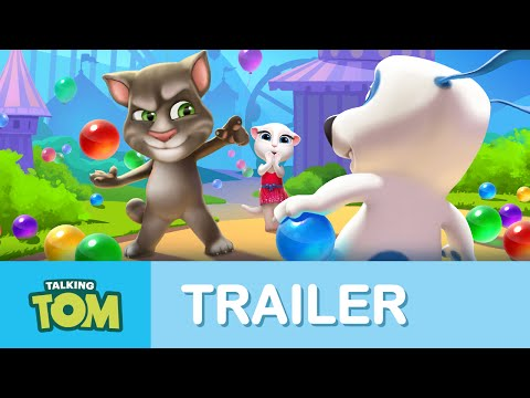 Thumbnail: Talking Tom Bubble Shooter - Official Trailer