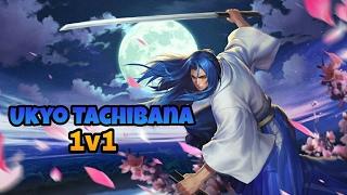 1v1 with Ukyo Tachibana Match #1 - King of Glory Gameplay