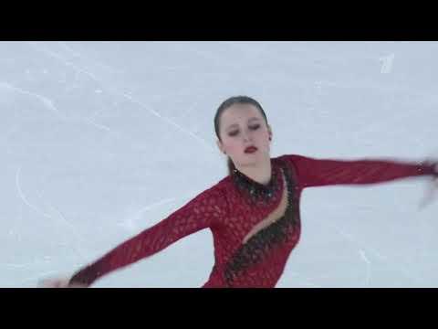 Екатерина Рябова. Короткая программа. Зимние юношеские олимпийские игры 2020