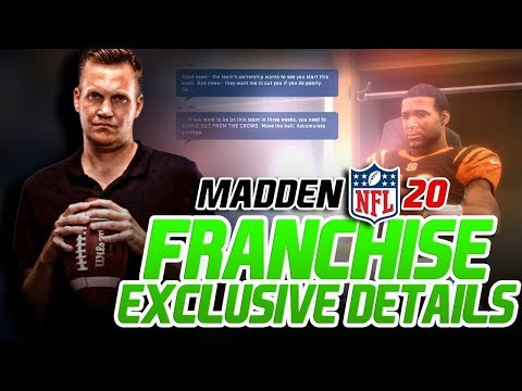 Madden 20 Franchise NEW Details! Year Long Content Updates!?