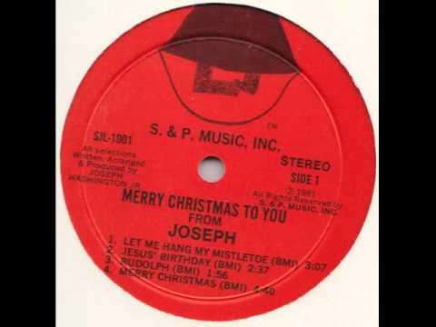 "Joseph ""Shopping"" (Christmas Boogie, 1981)"