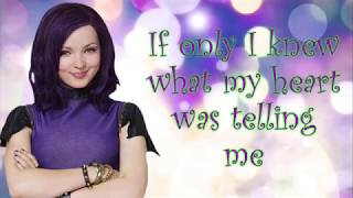 If Only lyrics ~ Dove Cameron